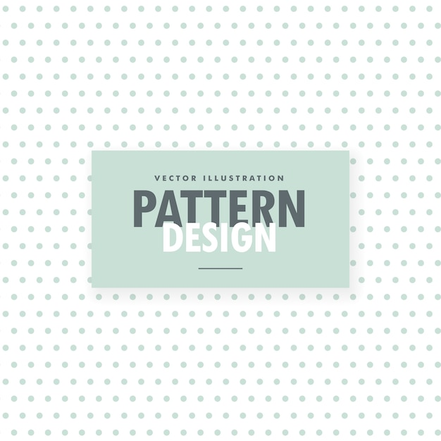 Minimal white background with light blue dots pattern Free Vector