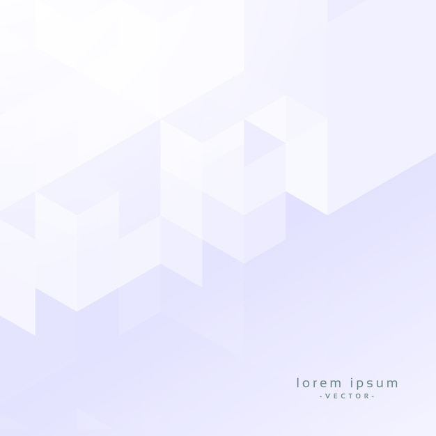 minimal white geometric background design Free Vector