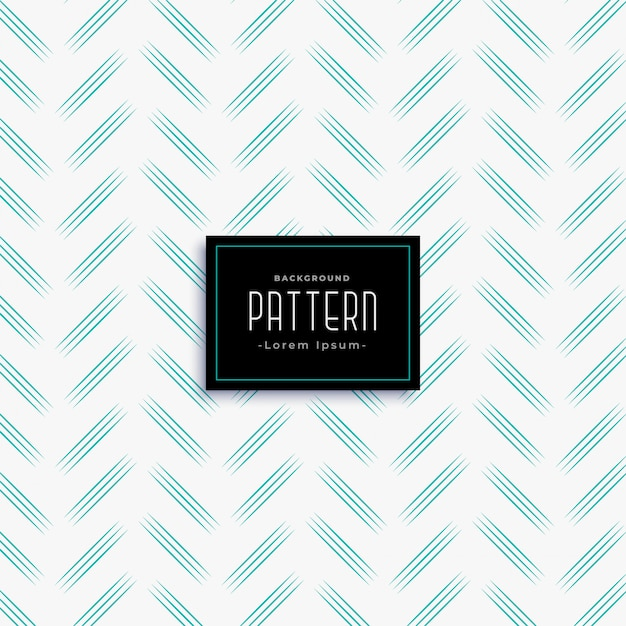 Minimal zig zag style blue line pattern Free Vector