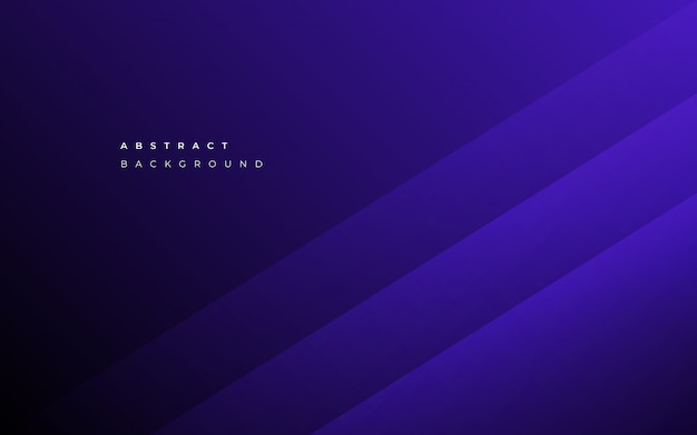 Minimalist abstract blue business background Free Vector