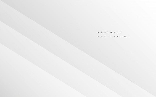 Minimalist abstract white business background Free Vector
