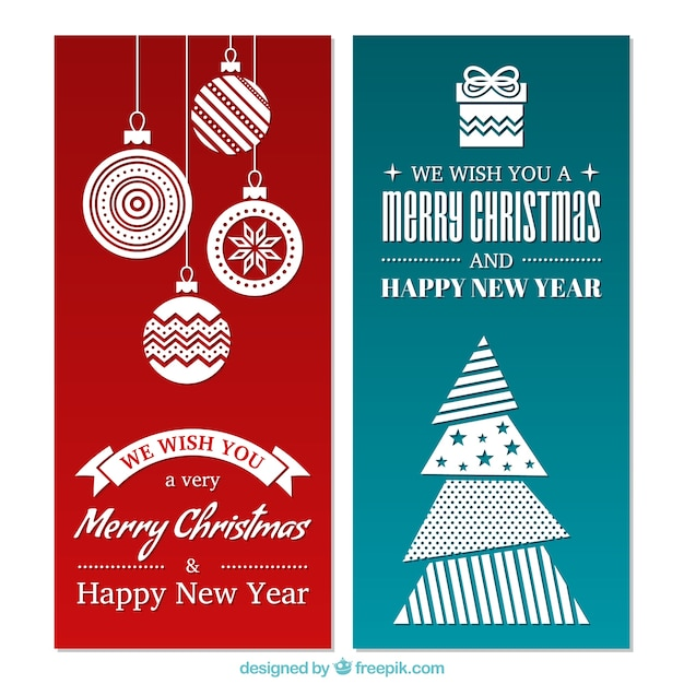 Minimalist christmas vectors photos and psd files free for Minimalist christmas
