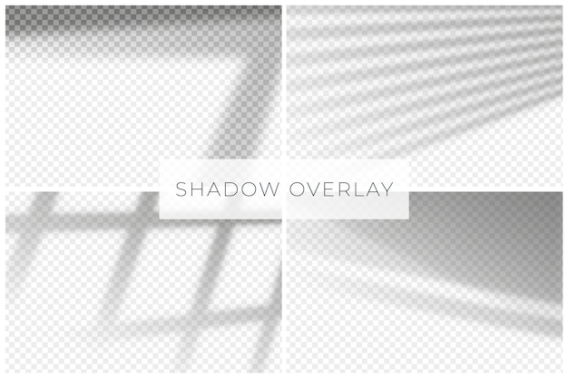 Minimalist shadows overlay effect decoration Free Vector