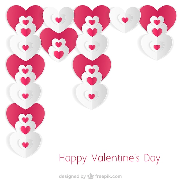Minimalist Valentine\'s card