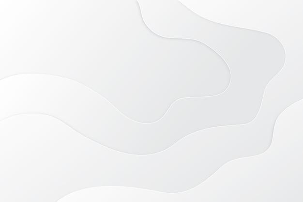 미니멀리스트 흰색 추상적 인 배경 무료 벡터