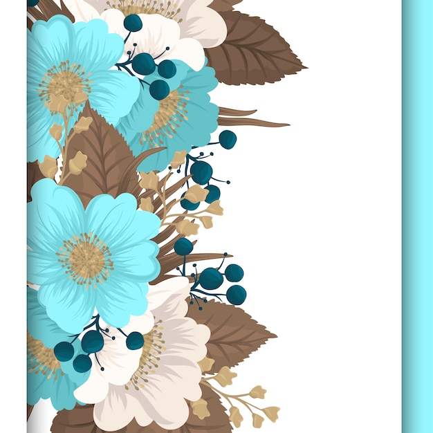 Green Floral Border Download PNG Image | PNG Arts |Green Flower Border