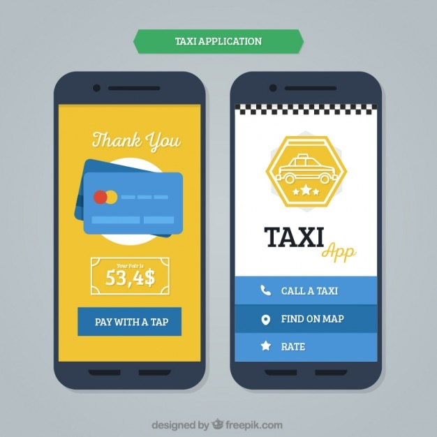 mobile application template for taxis stock images page everypixel