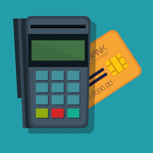 Mobile payments concept icon Free Vector