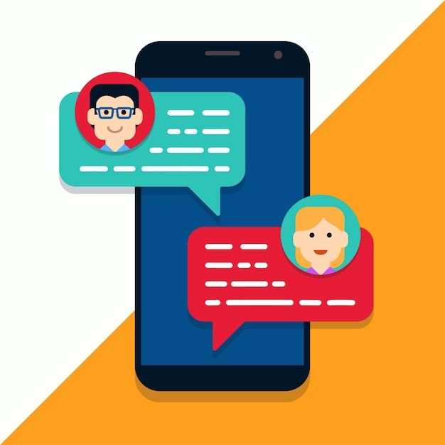 Chat mobile online