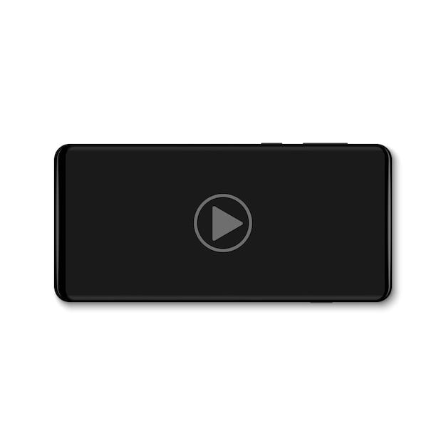 Мобильный видеоплеер Premium векторы