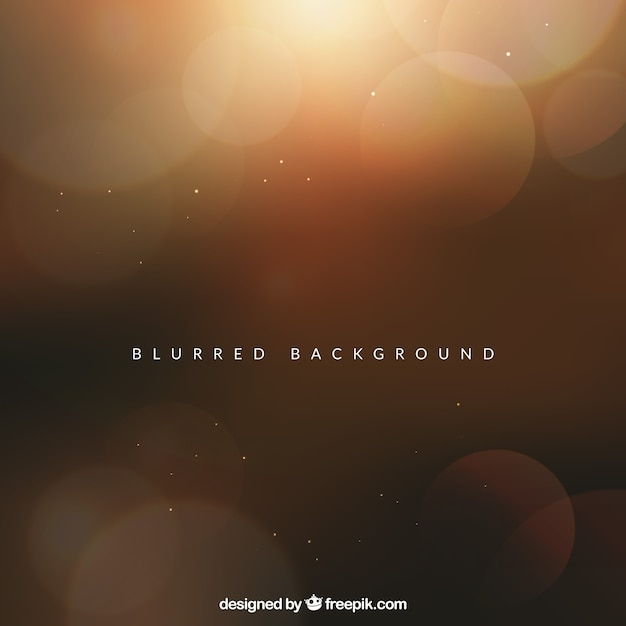 Modern abstract background with blurred effect Free Vector