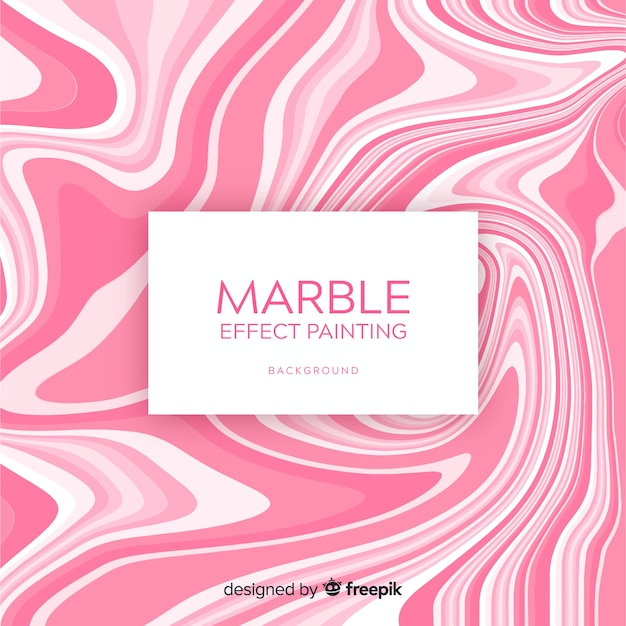 Modern abstract background with marble texture Free Vector