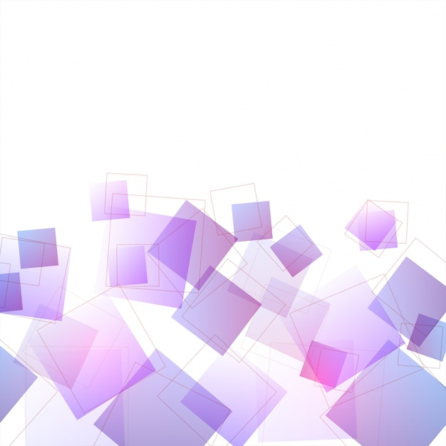 Modern Abstract Background With Purple Geometric Shapes Or