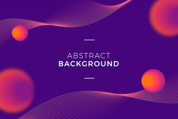 Modern and abstract background Free Vector