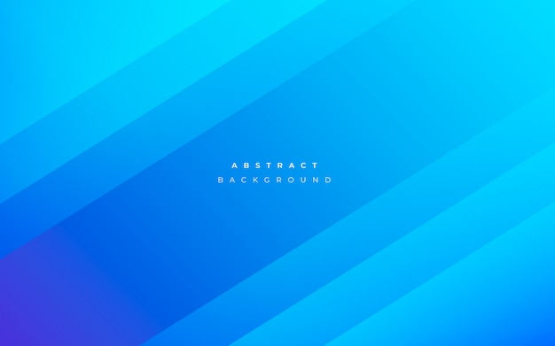 Modern abstract blue background Free Vector