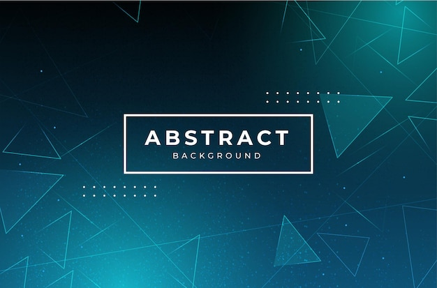 Modern abstract business background with triangles Free Vector