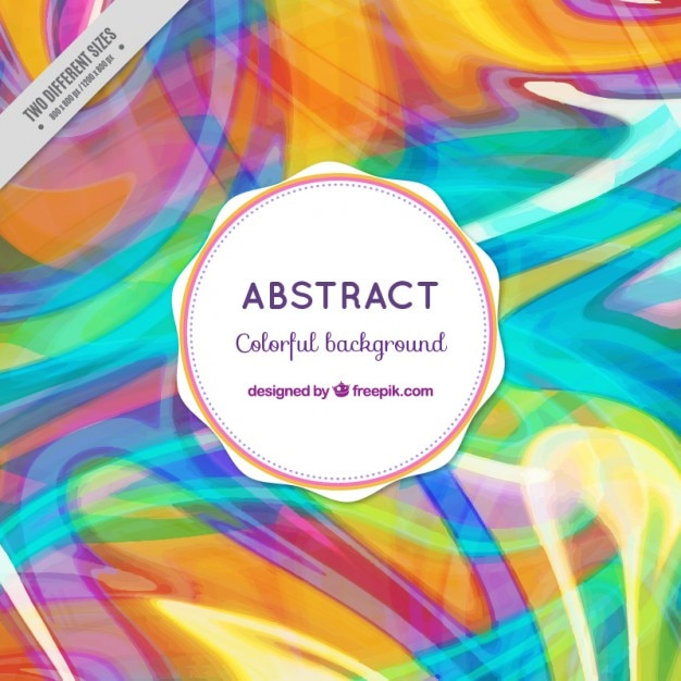 Modern abstract colored shapes background
