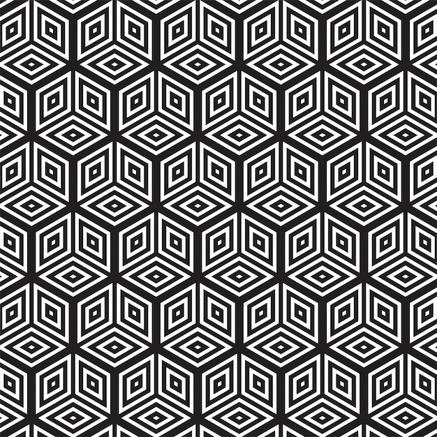 Modern abstract geometric seamless pattern Free Vector