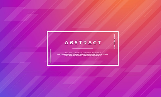 Modern abstract geometric vector background. Premium Vector