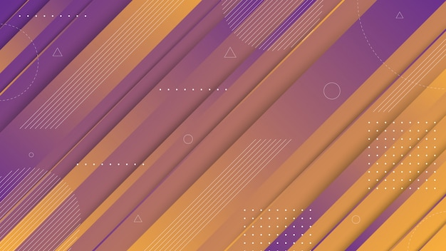 Modern abstract graphic elements. abstract gradient banners with flowing liquid shapes and diagonal lines. templates for landing page design or website background. Premium Vector