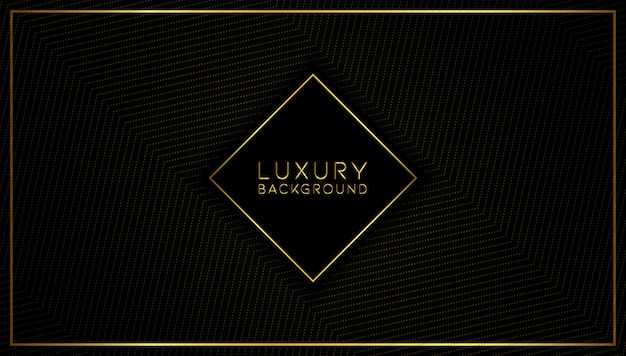 Modern abstract luxury gold background Premium Vector