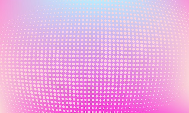 Modern abstract party halftone background Premium Vector
