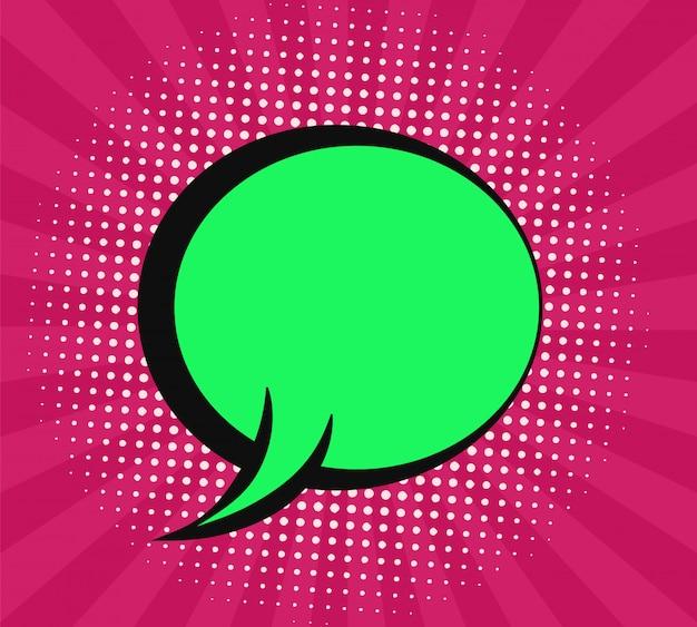 Premium Vector | Modern abstract speech bubble