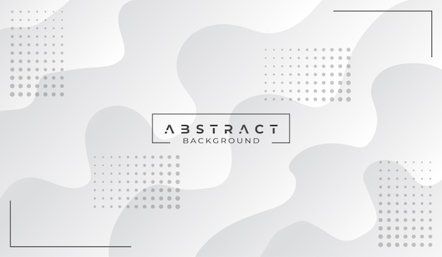 Modern abstract white background Premium Vector
