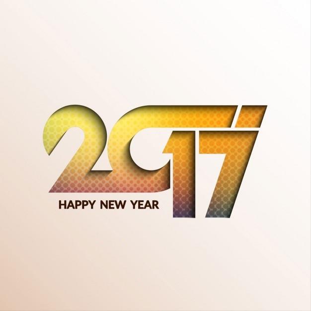 Modern and elegant new year 2017\ background