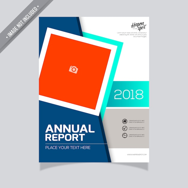 modern annual report template vector free download. Black Bedroom Furniture Sets. Home Design Ideas