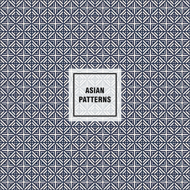 Modern Asian Pattern Vector Free Download Gorgeous Asian Patterns