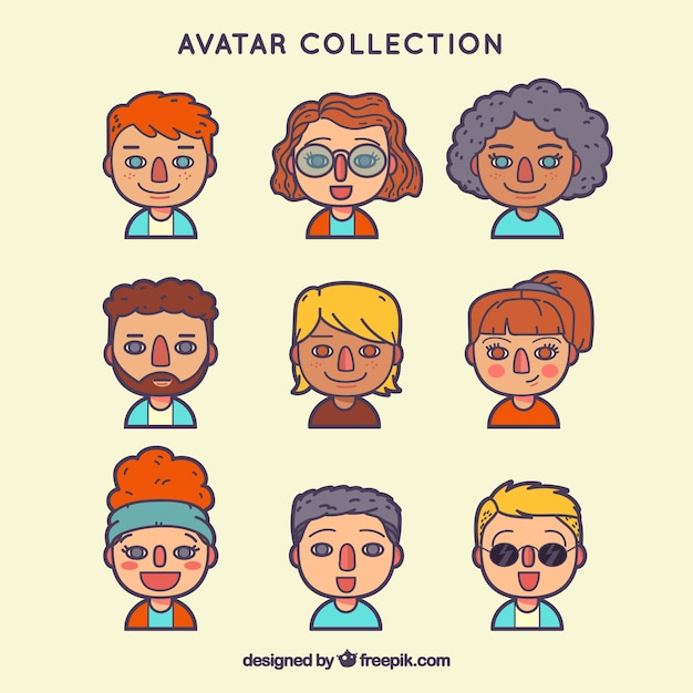 Modern avatars with lovely style