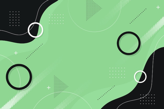 Modern background with abstract shapes Free Vector
