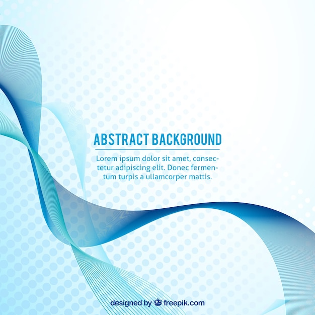 Modern background with abstract wave