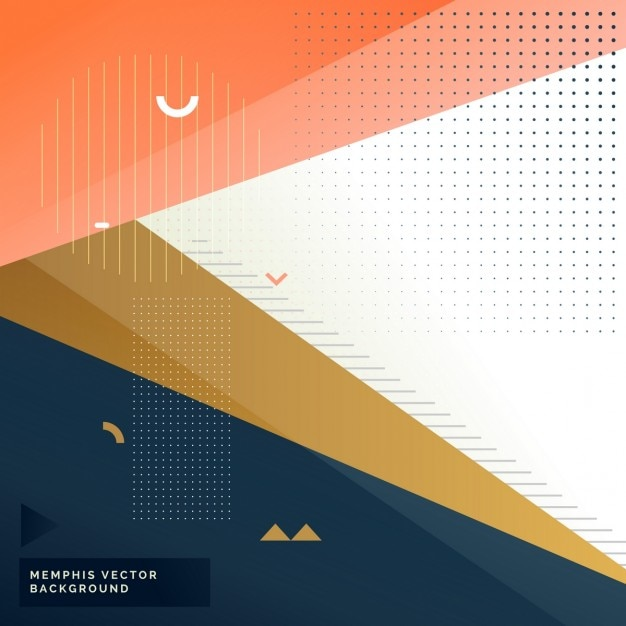 Modern Background Vector Graphic: Modern Background With Elegant Memphis Style Vector