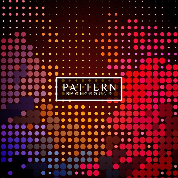 Modern background with halftone dots
