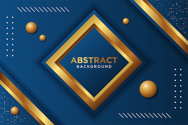 Modern black background with 3d overlap layers effect. graphic design elements. Premium Vector