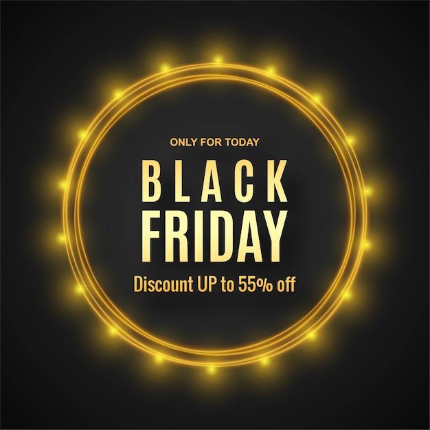 Moderno concetto di vendita venerdì nero Vettore gratuito