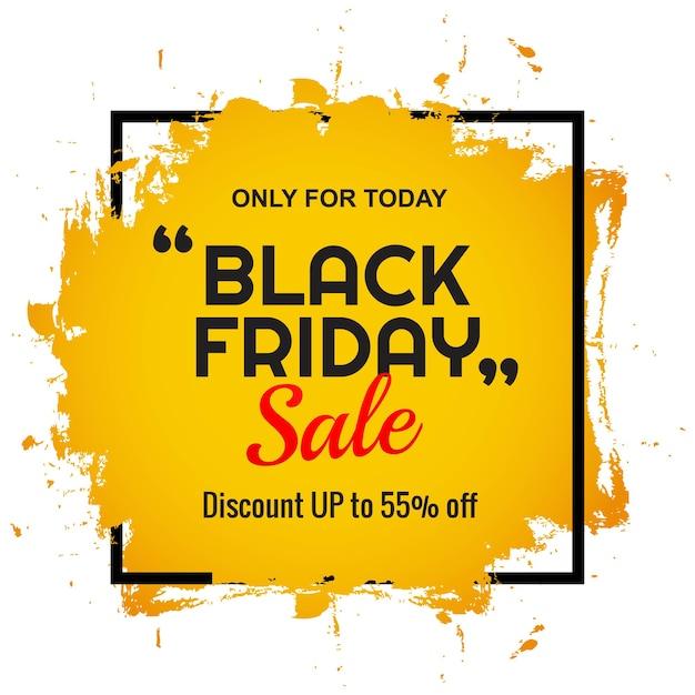Banner di offerta di vendita venerdì nero moderno Vettore gratuito