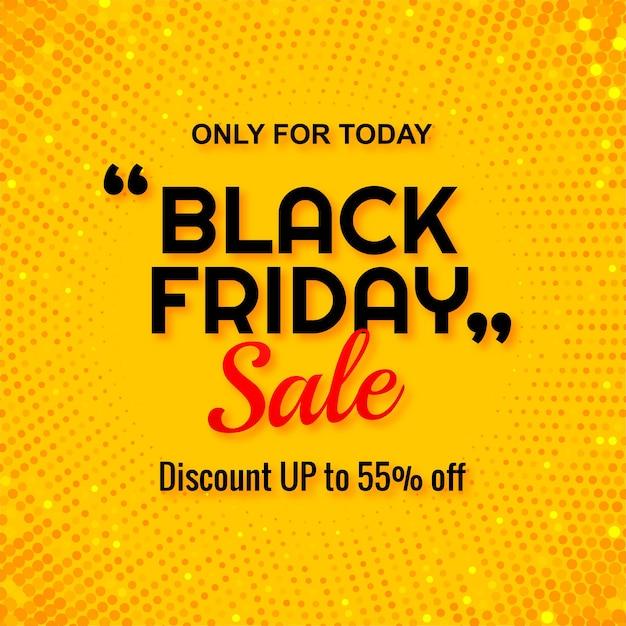 Современная распродажа черной пятницы с блестками Бесплатные векторы