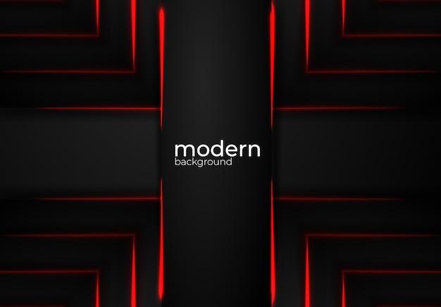 Modern black vector background Premium Vector