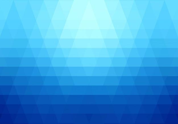 Современные синие геометрические фигуры фон Бесплатные векторы