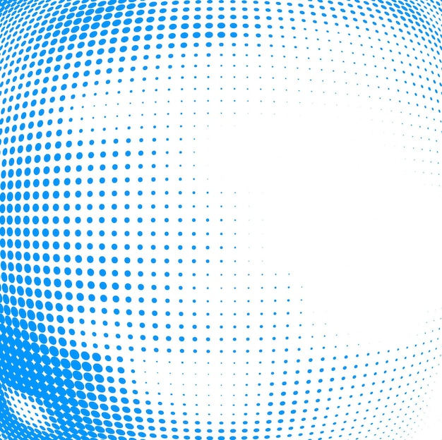 Modern blue halftone background