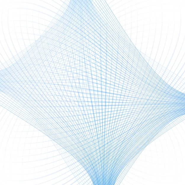 Modern blue lines background