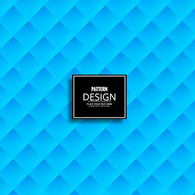 Modern blue pattern background