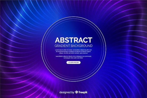 Modern blue and purple circles background Free Vector