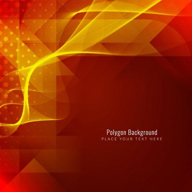 Moderna sfondo luminoso poligonale Vettore gratuito