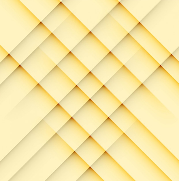 Modern bright yellow geometric background