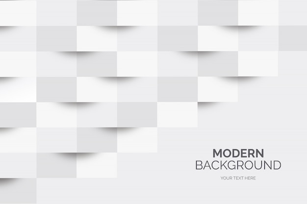 Modern business background with geometric shapes Free Vector