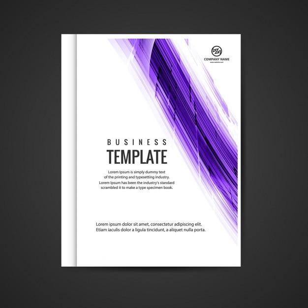 download vector modern business booklet vectorpicker